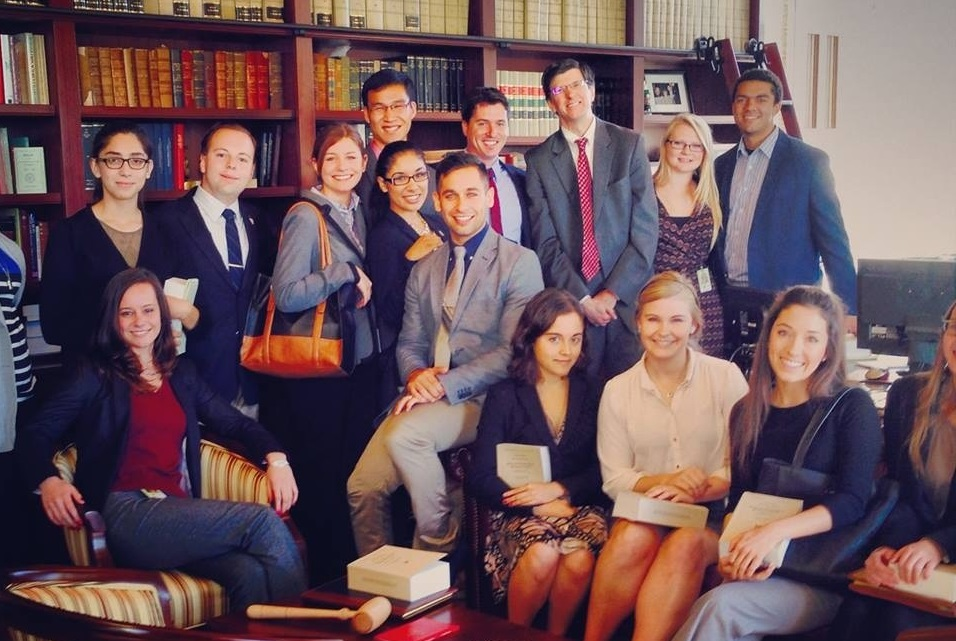 Panetta Congressional Interns in Washington, D. C.